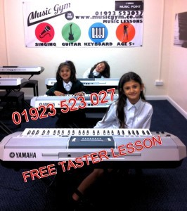 Music Gym Keyboard Piano Lessons FREE TASTER LESSONS