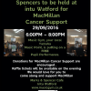 Intu watford concert,MacMillan Cancer Support